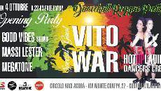 Dance Hall Reggae Party : Vito War + GVS…